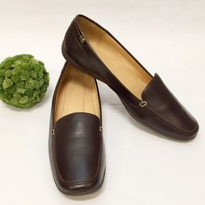 COACH Danae Cordovan Leather Loafer 9.5 Like New